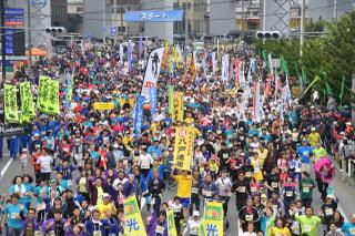 第38回八戸うみねこマラソン全国大会